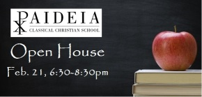 Open House Info Meeting – Friday, February 21, 6:30-8:30pm
