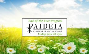 End-of-the-Year Program – Friday, June 20, 7:00 p.m.