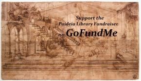 Paideia Library Fundraiser onGoFundMe
