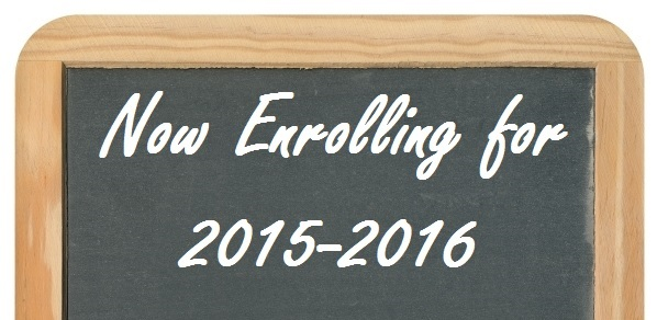 Chalkboard Now Enrolling Top